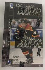 2001-02 ITG Be A Player Memorabilia Factory Sealed Hockey Hobby Box