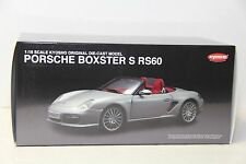 1/18 KYOSHO PORSCHE BOXSTER S RS60 , IN SILVER , NEW , 08382S