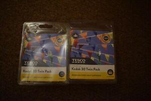 Tesco Remanufactured Inks Two Black & Two Colour Replaces Kodak 30 Freepost UK