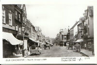Sussex Postcard - Old Chichester - North Street c1899 - Ref.J380
