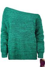 Jersey de mujer de color principal verde talla S