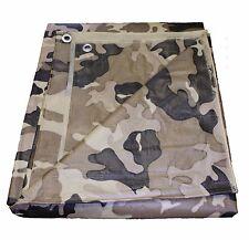 Tan Camouflage Utility Tarp