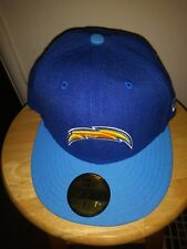 cheap for discount 0d91a f5837 Los Angeles Chargers Era NFL Heather Action 2 Tone 59fifty 7 1 4 Cap Hat