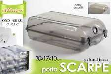 CONTENITORE PORTA SCARPE IN PLASTICA COLOR 30*17*10 CM COLORI ASS. OND-681431