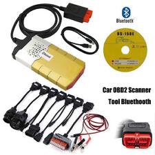 KFZ Profi Diagnosegerät Bluetooth OBD Diagnose Scanner mit 8 PKW Kabelset