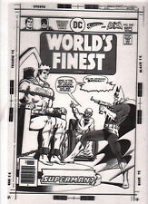 "WORLDS FINEST 240  ""How Do You Kill A Superman?""  ERNIE CHAN  COVER TRANSPARENCY"
