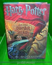 Harry Potter and the Chamber Of Secrets by J.K. Rowling 1st Edition 1st Print HC