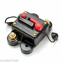 12v/24v Car Auto Boat Audio Fuse Holder 100A Manual Reset Circuit Breaker Tool