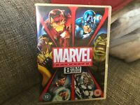 Marvel Complete Animation Collection - 8 Films [DVD] - 4 DVDS BOXSET