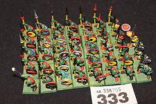 Games Workshop WARHAMMER Goblin SPEARS spearmen Quest dipinto ESERCITO REGGIMENTO fuori catalogo