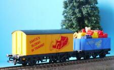 HORNBY SANTA EXPRESS SANTA'S SLEIGH IN TRANSIT, PRESENTS WAGON x CHRISTMAS R1148