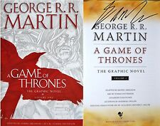 George R.R. Martin SIGNED Game of Thrones Graphic Novel I 1st Edition + Photos!!