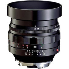 NEW Voigtlander Nokton 50mm F/1.1 Aspherical Lens For Leica M Mount BA247A USA