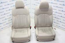 BMW Front Comfort Seats Leather Dakota 5er 7er G30 G31 G11 G12 Beige Ventilated