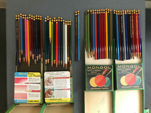 Eberhard Faber Mongol Paint with Pencils Lot