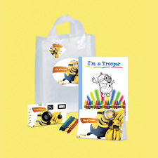 I'm a Trooper Gift Bag- Minions - Single use Disposable Camera /child(Pkg109)