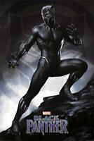 Black Panther Poster Stance 61 x 91,5 cm Plakat Wanddeko Wandbild Deko Geschenk
