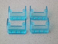 Lego 2437# 4x Cockpit 3x4x1 Transparent hell blau 4544 7945