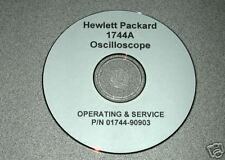 Hp 1744A Operating And Service Manual
