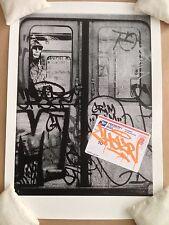 CHAZE Street Art Print Poster LE x/40 S&N POW Graffiti banksy dolk invader outis