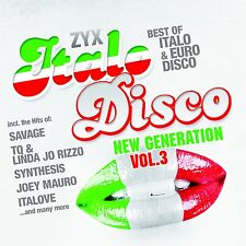 CD ZYX ITALO DISCO NEW GENERATION Vol.3 de Various Artistas 2cds