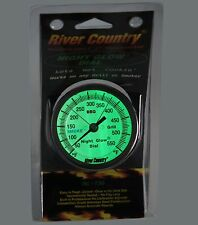 "3"" RC GLOW IN THE DARK BBQ CHARCOAL GAS ELECTRIC GRILL SMOKER PIT THERMOMETER"