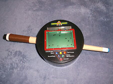 REAL SHOOTIN' POOL - TALKING HAND HELD ELECTRONIC GAME - 1999 PLAYMATES TOYS