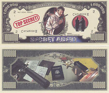 Secret Agent Spy CIA KGB James Bond-type Bill # 196
