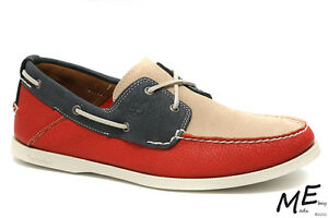 New Timberland EK Heritage 2Eye Boat Men Shoes Sz10 (MSRP $120) 6506R