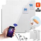 KESSER Infrarotheizung APP WiFi 425-550W Wandheizung Infrarot Heizkörper Heizung <br/> ✔️Wifi App ✔️LCD-Display Digital✔️Timer✔️Inkl.Standfüße