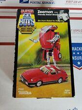 Tonka Super GOBOTS 1984 ZEEMON (026) Friendly Robot Street Machine