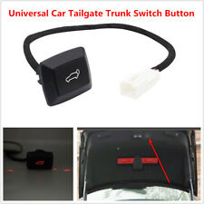 Auto Car Rear Trunk Lock Door Electric Tailgate Trunk Switch Button . Red Light