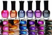 6 PCS New Kleancolor FULL SIZE METALLIC LOT Nail Polish Colors SET 3