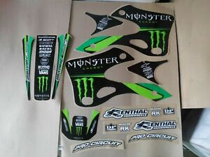 TEAM PRO CIRCUIT   KAWASAKI GRAPHICS KX125 KX250  1999 2000 2001 2002