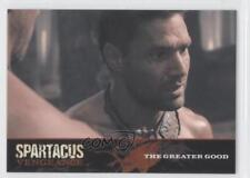 2013 Rittenhouse Spartacus: Vengeance Premium Packs E7 The Greater Good Card 1d3