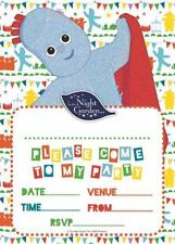In The Night Garden Pack Of 20 Party Invitations