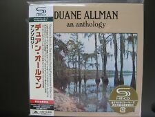 CD Duane Allman - An Anthology 2CDs SHM JAPAN MINI LP CD OBI