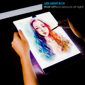 A4 LED Tracing Light Box Drawing Copy Tablet Graphic Artist Stencil Tattoo Digit