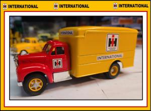 1:50 Custom Corgi B-61 Van Truck in authentic INTERNATIONAL colors