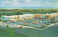 CLEVELAND OHIO MIDWAY MOTEL~6455 PEARL RD-ARTIST DRAWN POSTCARD 1960s