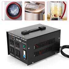 3000W Voltage Converter Power Transformer Step Up/Down 110V 220V Heavy Duty