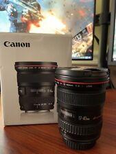 Canon EF 17-40 mm f/4 L USM Lens - Black -