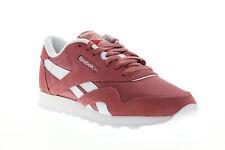 Reebok Classic Nylon DV5807 женские розовые нейлоновое кружево вверх низкий верхний кроссовок обувь