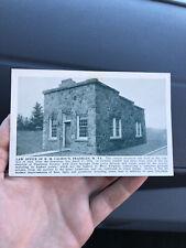 Rare Law Office of H.M. Calhoun Postcard Franklin West Virginia WV Pendleton