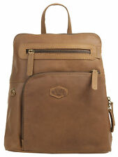 Landleder Pinch Of Wax City Rucksack Leder Natur