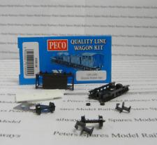 Peco Quality Line Wagon KNR-48 10ft LMS Goods Brake Van Wagon Kit