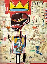 "Jean Michel Basquiat Untitled Giclee Canvas 24""X18"""