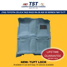 MOULDED CAR CARPET (T02) TOYOTA CELICA TA22 RA23 RA 28 A20 35 SERIES F&R 72-77