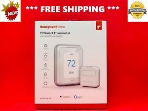 BRAND NEW HONEYWELL T9 Smart Programmable Touchscreen Home THERMOSTAT + SENSOR