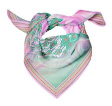Bimba Womens Rectangular Printed Cotton Voile Scarf Neck Head Wrap-PCV62A